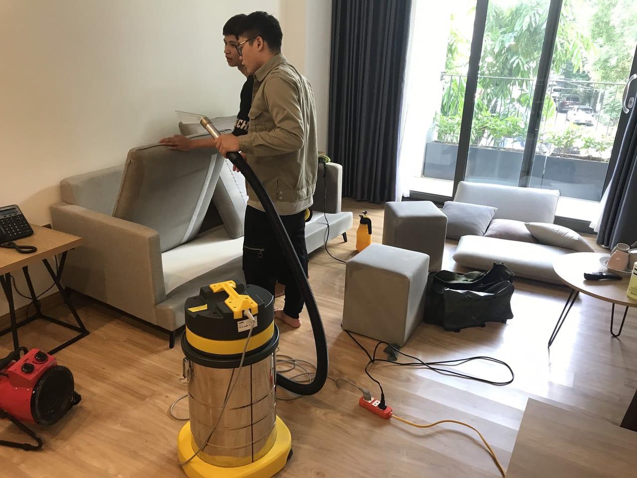 Hướng dẫn vệ sinh sofa tại nhà